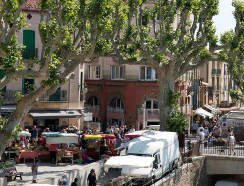 Matinée au marché de Collioure